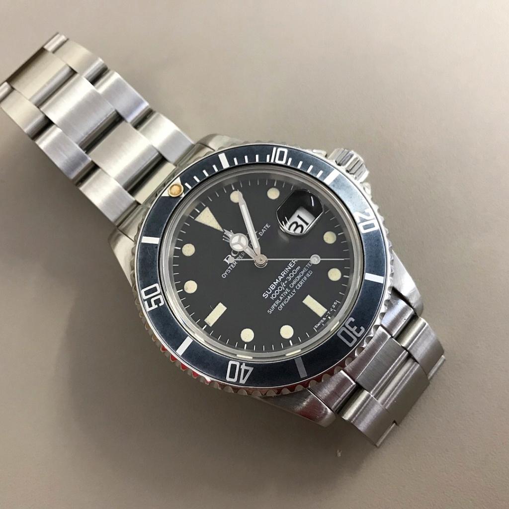 [vendue] Rolex Submariner 16800 cadran mat de 1981  ----- 7990 euro ----- Img_1714