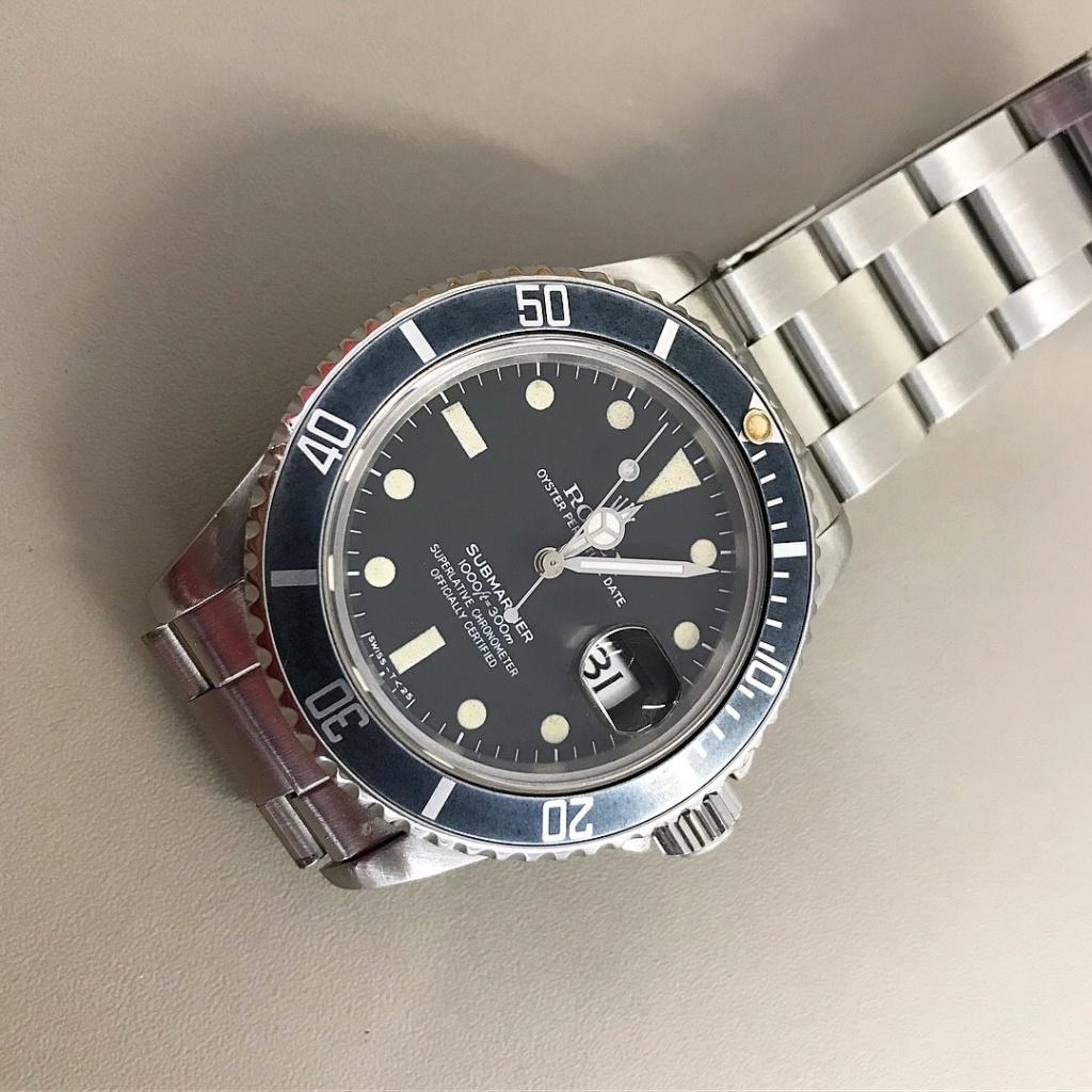 [vendue] Rolex Submariner 16800 cadran mat de 1981  ----- 7990 euro ----- Img_1715