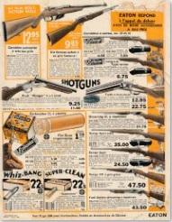 Armes dans le catalogue Eaton 1932-33 Eaton110