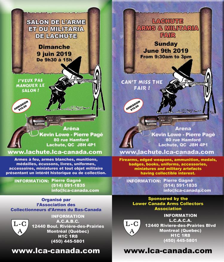 Salon de l arme Lachute 9 juin Feuill10
