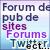 Boutons bleus de Féline Pub 50x50-10