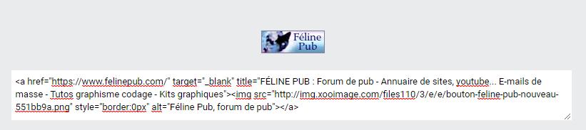 Tag html sur ©Féline Pub | Forum de pub, codage, graphisme, annuaire web  Faire-10