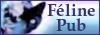 Boutons bleus de Féline Pub Feline15