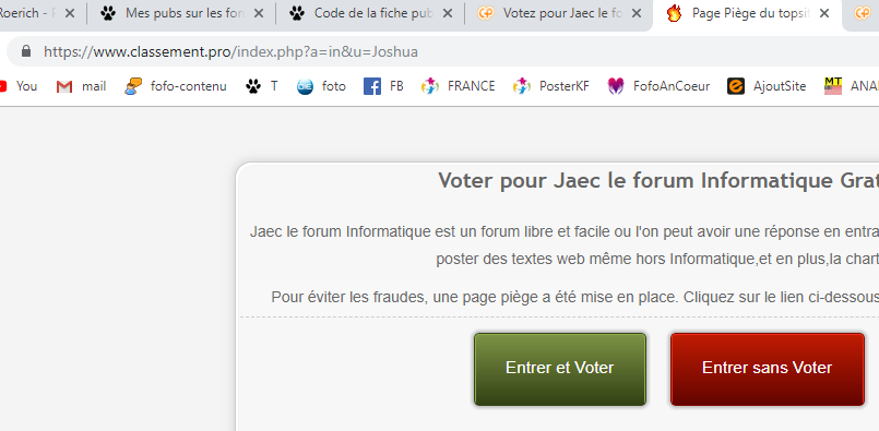 Votez pour Jaec le forum d'assistance informatique  Pagepi10