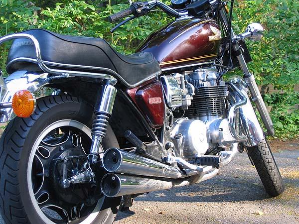 RC36 de 1993, bulma Honda410
