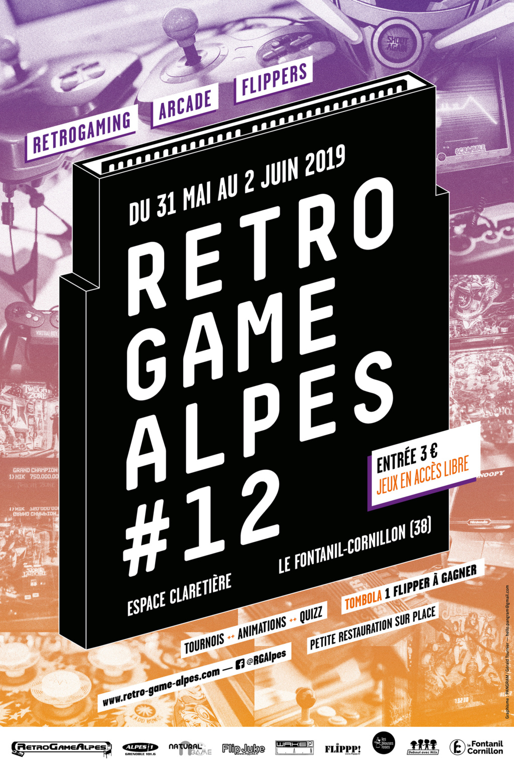 [RETRO GAME ALPES 2019] du 31 Mai au 02 Juin ! 99162810