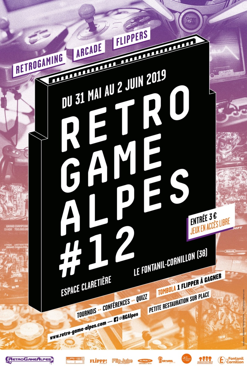 [RETRO GAME ALPES 2019] du 31 Mai au 02 Juin ! Affich12
