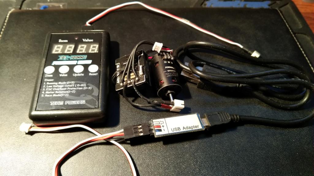combo TEAM POWER + moteur 7200kv (VENDU) 6010