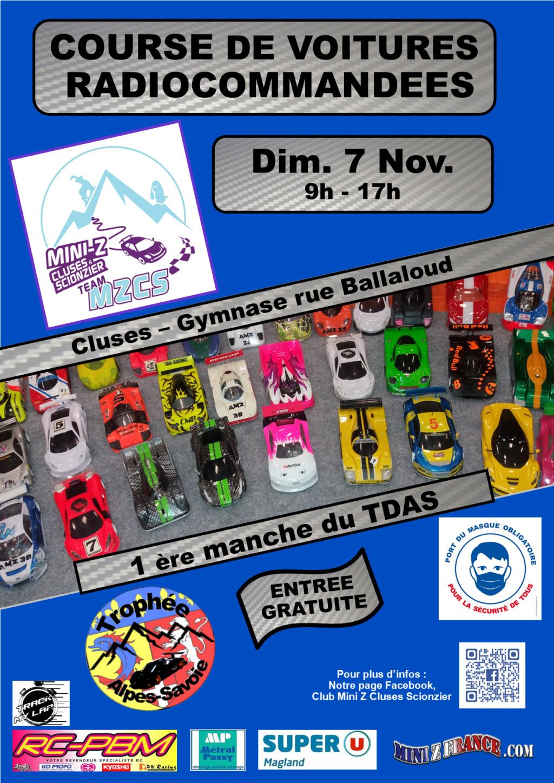 1ère MANCHE  TDAS 2021/22 - MZCS - Cluses - 6-7 Novembre 2021 Affich10