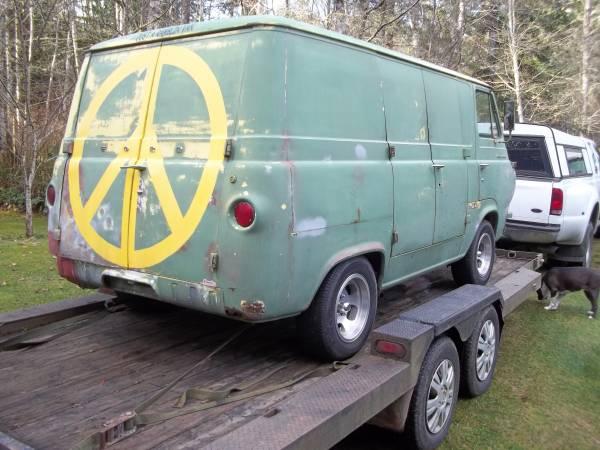 1962 ford econoline van - $4000 (Port Orchard) 62econ79