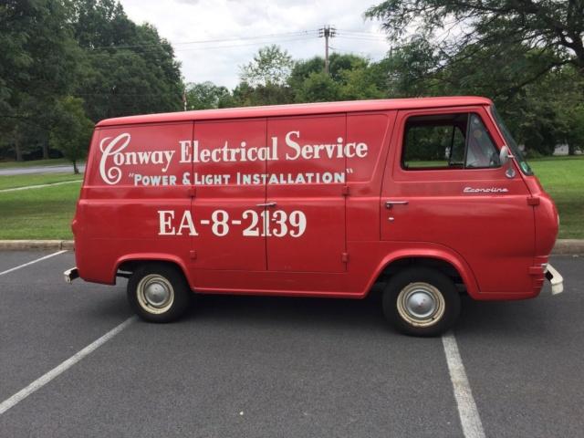 62 Econo Van - Delaware - Ebay - $10000 Opening Bid - Nice 63econ13