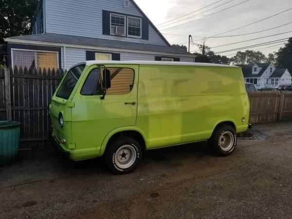 65 Chevy No Door Van - Milford, CT - $7500 65chev46