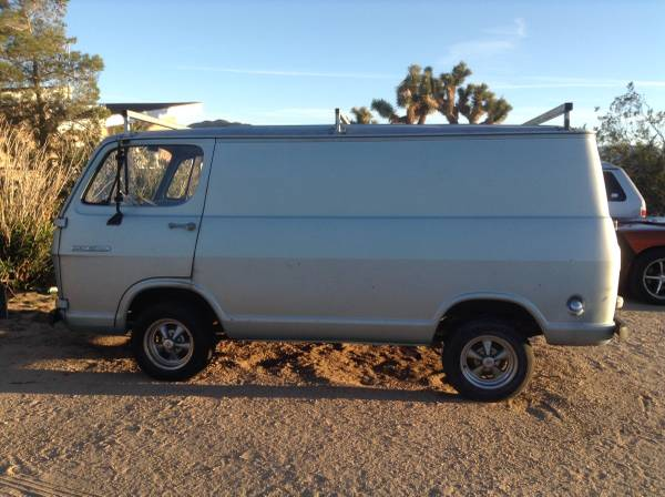 65 Chevy Van - Yucca Valley, CA - $2750 65chev57