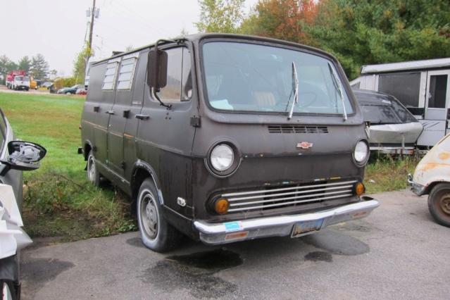 65 Chevy Van - Hampstead, NH - Ebay - $4400 Starting Bid Required - Relist 65chev63