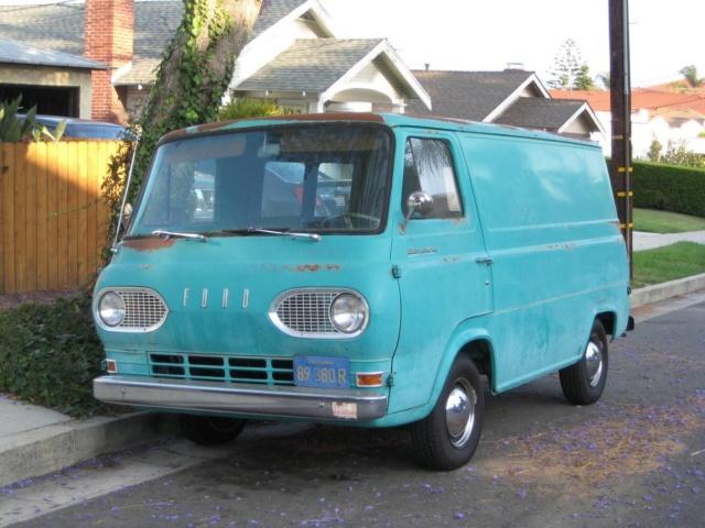 65 Econo Van - Ventura, CA - $5995 - V8 - Looks Nice! 65econ11