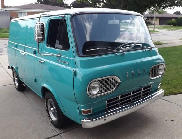 65 Econo Van - Warren, MI - $12500