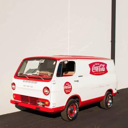 65 GMC Handivan - Huntington, NY - $25000 - Coca-Cola Van 65gmch10