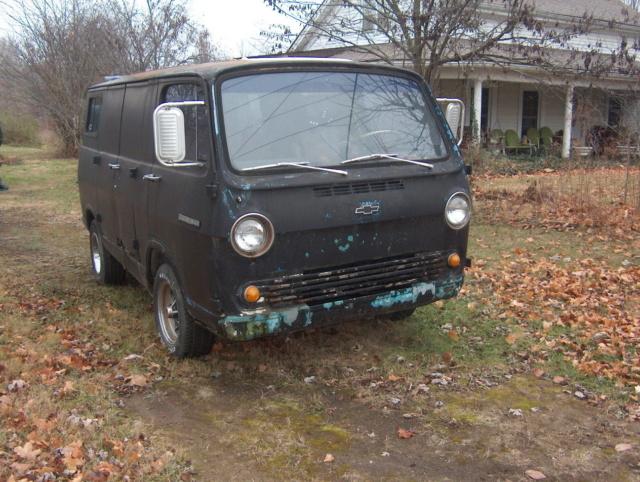 66 Chevy Van - Nabb, IN - Ebay - Starting Bid $3500 66chev34