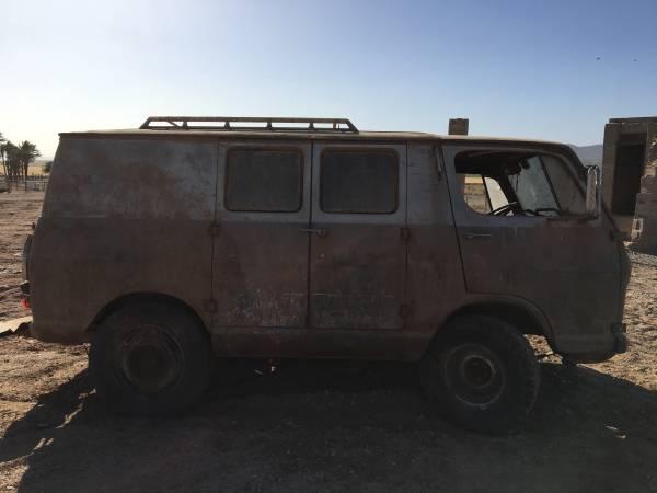 66 Chevy Van - Yuma, AZ - $600 OBO - Relisted at $400 66chev46