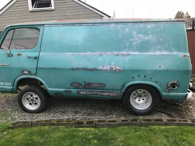 66 Chevy Van - Tacoma, WA - Ebay - $3600 Starting Bid Required - Relist 66chev50