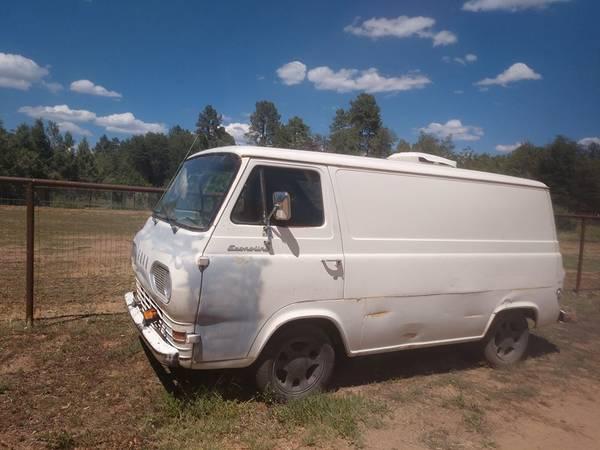 66 Econo Van - Payson, AZ - $4500