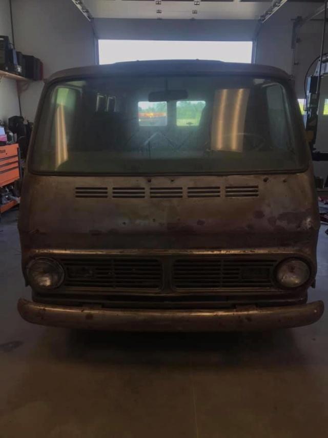 67 Chevy 108 Van - Lexington, NC - $4500 67che100