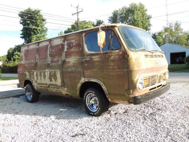 67 Chevy 108 Van - Terre Haute, IN - Ebay - $4400 Buy It Now Price - Relist 67chev32