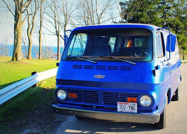67 Chevy 108 Van - West Bend, WI - $10500 - Relisted at $7900 67chev34