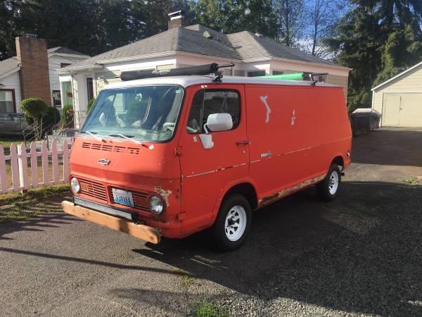 67  Chevy Van - Seattle, WA - $5000 67chev42