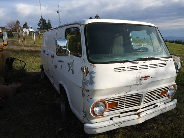67 Chevy 108 Van - Portland, OR - $1800 67chev45