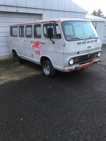 67 Chevy 108 Sportvan - Vancouver, WA - $2200 67chev46