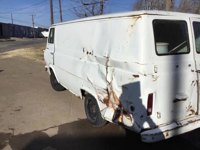 67 Econo Supervan HD - Lubbock, TX - $1500 - (Parts Truck)