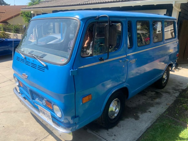 68 Chevy Sportvan - San Clemente, CA = $9800