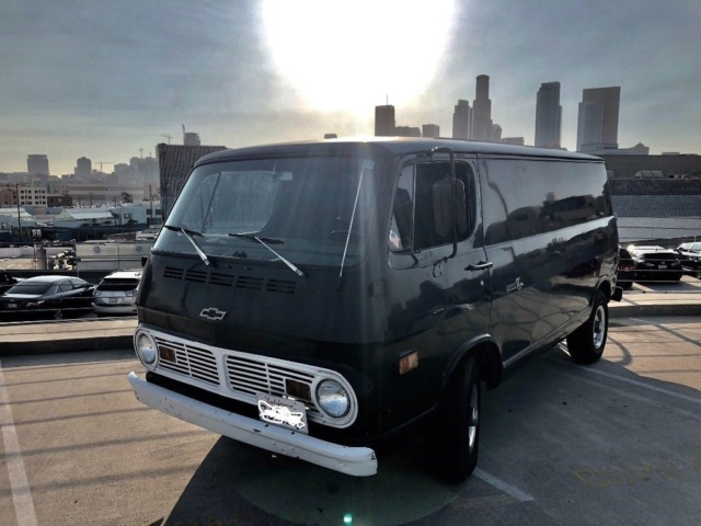 68 Chevy 108 Van - Los Angeles, CA - Relisted on Craigslist for $8000 68chev43