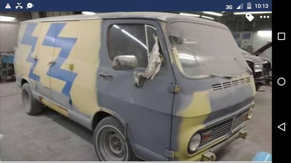 68 Chevy 108 Van - Lawrenceville, NJ - $2800 68chev58