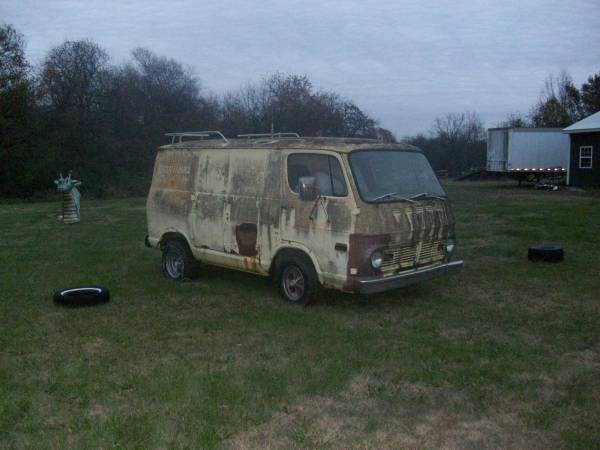 64 And 68 Chevy Vans - Joplin, OK - $6500 for both or sell individually - Both Relists 68chev59