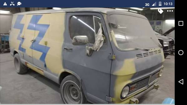 68 Chevy 108 Van - Lawrenceville, NJ - $3500 - Relist 68chev66