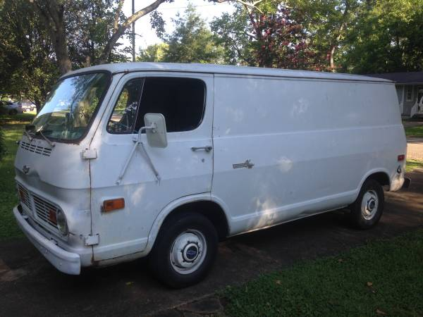 69 Chevy 108 Van - Huntsville, AL - $2700 - Will NOT Ship - No Title 69chev48