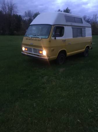 69 Chevy 108 Hightop Camper Van - Hilton, NY - $5900 - Relist 69chev57