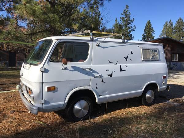69 Chevy Van - Winthrop, WA - $5000 69chev59
