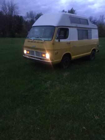 69 Chevy 108 Hightop Camper Van - Hilton, NY - $5900 - Relist 69chev66