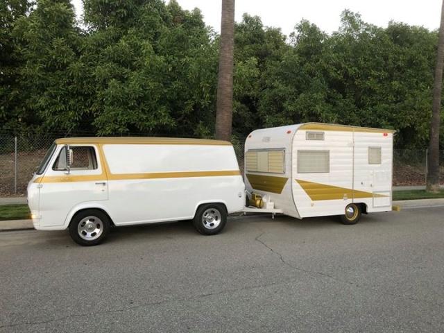 Vintage Vans and trailers... Econoa16
