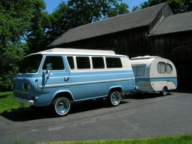 Vintage Vans and trailers... Econos15