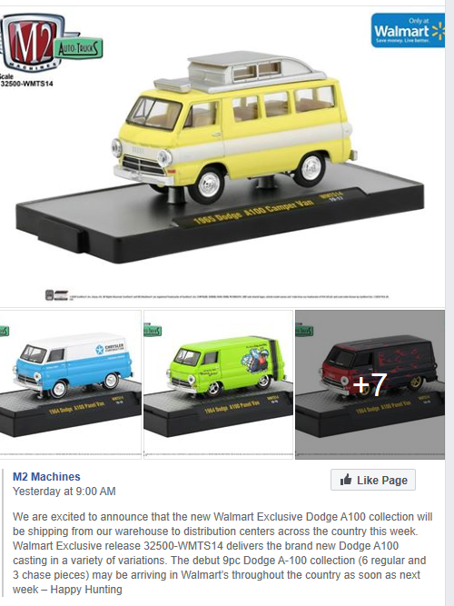 A100 M2 Vans coming to Walmart soon!!! M2dodg10