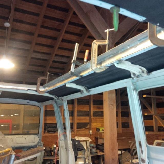 Travelwagon Build  Roof_510