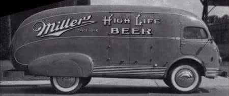 Miller High Life Beer Van Vintag11