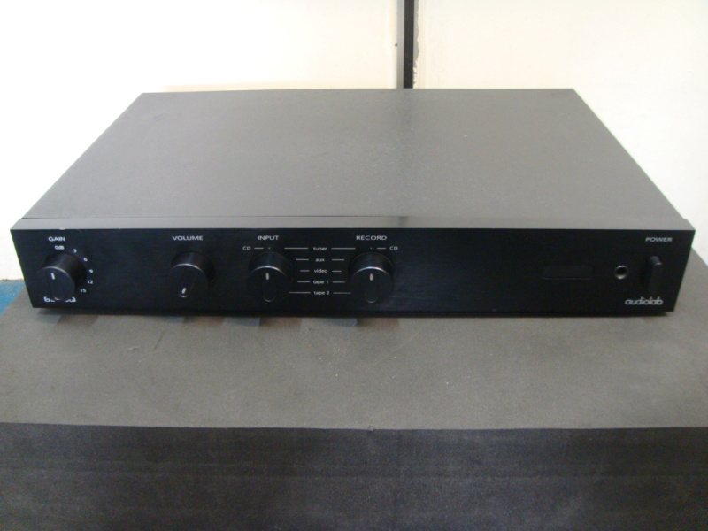Audiolab 8000Q pre amplifier (sold) Dsc06717