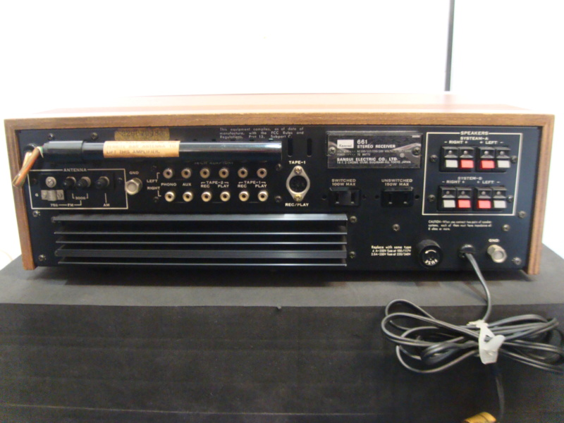 Sansui receiver 661(sold) Dsc06725