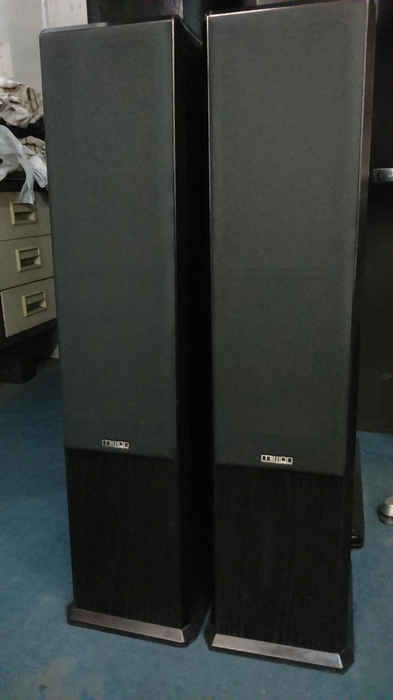 Mission 752 floor stand speaker(sold) Dsc_0120