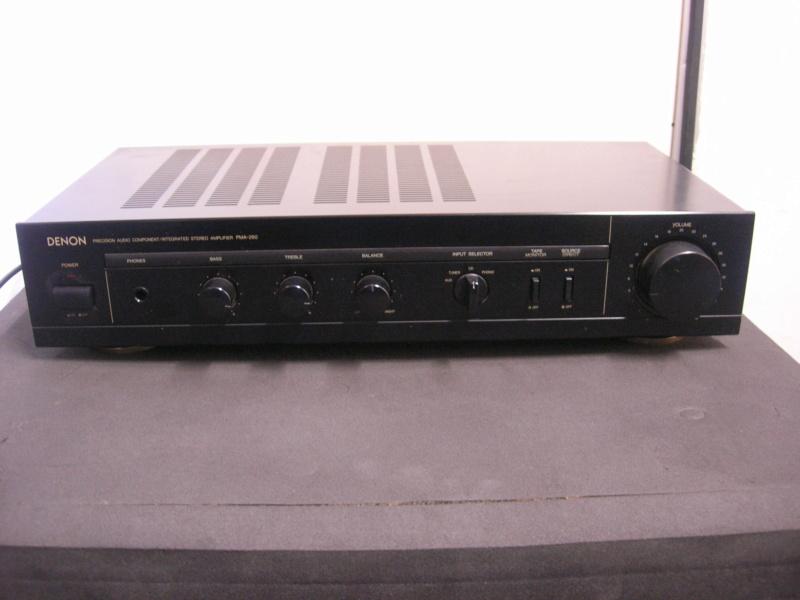 Denon pma-260 amplifier(sold) Dscn3018
